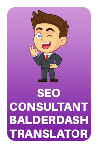 SEO Consultant Balderdash Translator