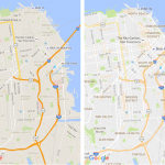 Google Maps Update Before And After