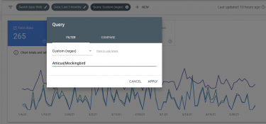 Google Regex for Search Console Rollout